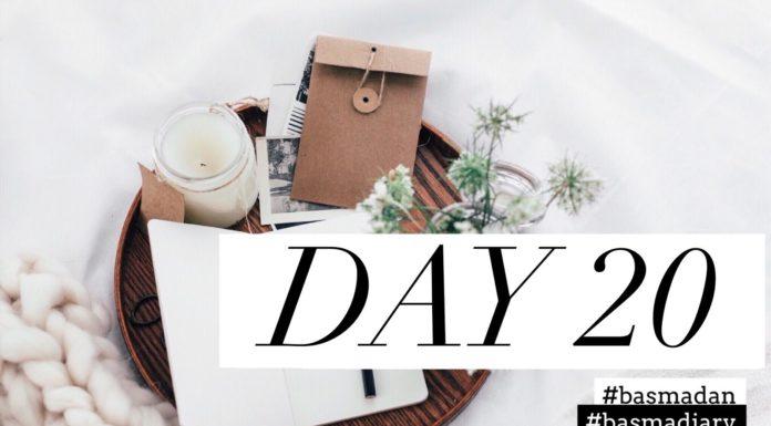 #basmadan diary: Ramadan Tag 20